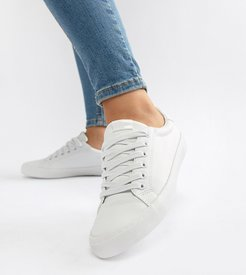 Dustin lace up sneakers in white