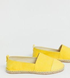 Wide Fit Jacey espadrilles-Yellow