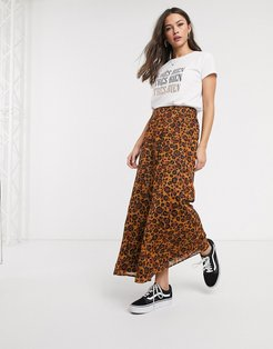 skirt in leopard-Multi