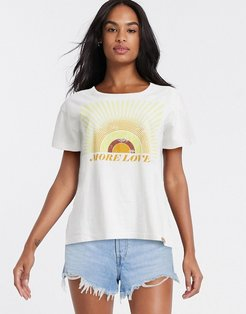 sunshine slogan t-shirt-White