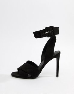 High Heeled Sandals-Black