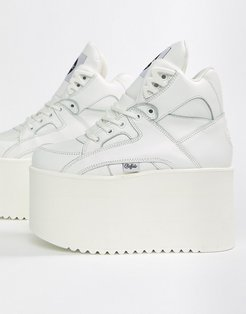 London classic extreme flatform sneakers in white