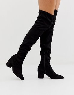 by ALDO Ashely knee high boots in black