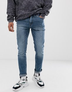 sonic slim fit jeans in bail blue