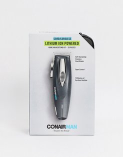 ConairMan 20 Piece Lithium Ion Cord/Cordless Clipper-No Color