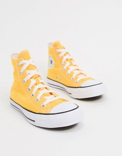Chuck Taylor All Star Hi Bright Yellow Sneakers