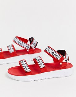 denso chunky sandal in red