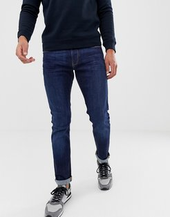 J06 stretch slim fit jeans in mid wash-Blue