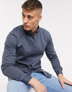 shirt in gray texture