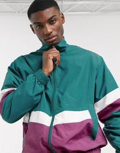 tracksuit jacket in green