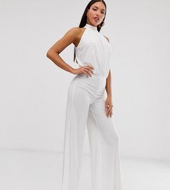 jumpsuit in white