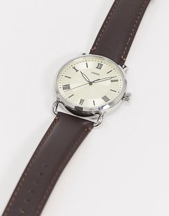 Copeland brown leather watch FS5663