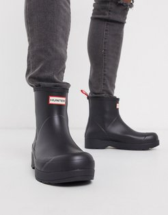 original play short wellington boots in Black