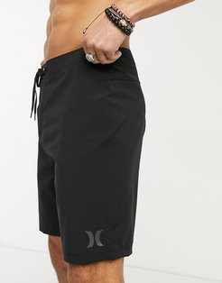 One and Only 20 boardshort in black