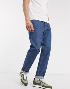 Intelligence jeans in loose fit mid blue