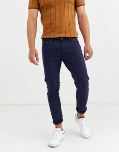 slim fit jeans in blue-Navy