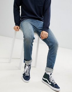 John slim fit jeans in washed gray