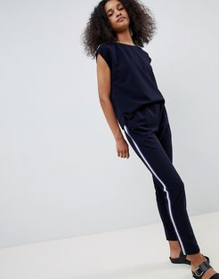 Relaxed Jumpsuit-Navy