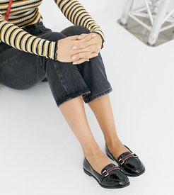Patent Loafer-Black