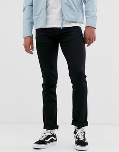Co Grim Tim slim straight fit jeans in dry ever black wash