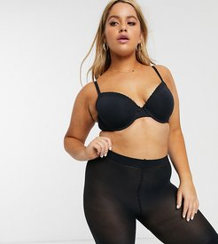 curve sheer anti chaffing cooling short in black