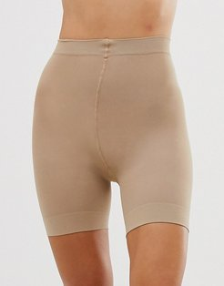 sheer anti chafing cooling short in beige