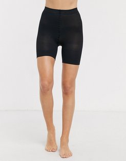 sheer anti chafing cooling short in black
