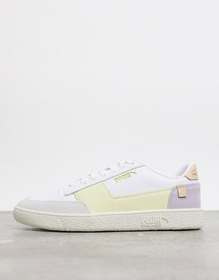 Ralph Sampson mc sneakers in white and yellow