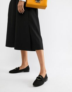 Flat Loafers-Black
