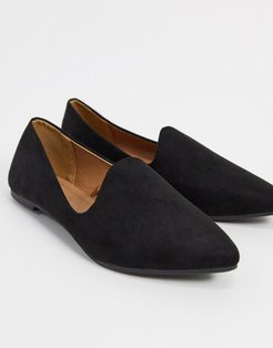 tiana flat shoes in black
