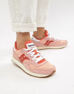 Dxn Vintage Pink And Red Sneakers