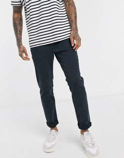 organic cotton slim fit stretch jeans in navy