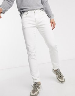 slim fit jeans in white