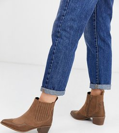 Judy western boots in tan