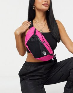 Lumbnical small fanny pack in dark pink