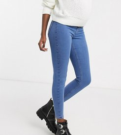 Joni overbump skinny jeans in bleach wash-Black
