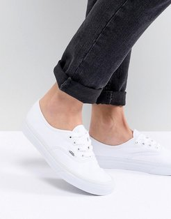 Classic Authentic triple white sneakers