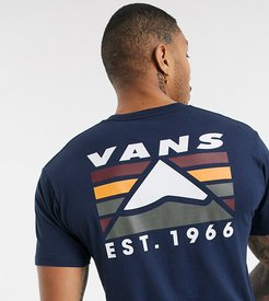 Mountain t-shirt in dark blue Exclusive at ASOS