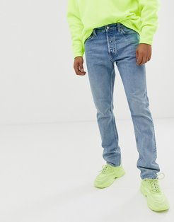 Pine loose fit jeans in blue