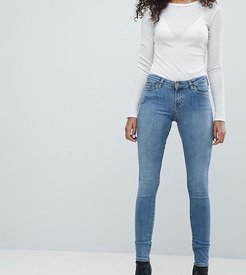 Saturday Low Waist Skinny Jeans-Blue