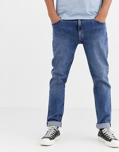 Sunday relaxed tapered comfort fit jeans in blue