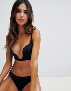 new ultimate plunge bra a - f cup-Black