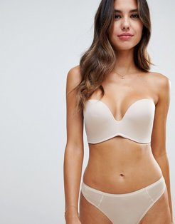 new ultimate strapless bra a - g cup-Beige