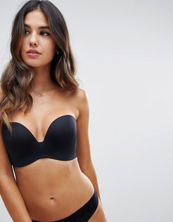 new ultimate strapless bra a - g cup-Black