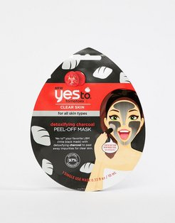 Detoxifying Charcoal Peel-Off Mask (Single Use)-No Color