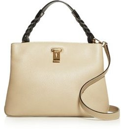 Lucyle Small Pebbled Leather Shoulder Bag