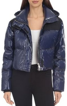Bagatelle. nyc Cropped Hooded Puffer Jacket