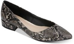 Camelia Pointed-Toe Ballet Flats