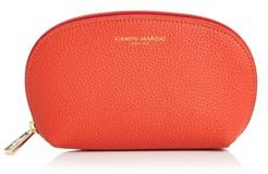 Small Leather Cosmetic Case