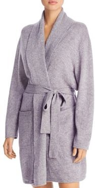 Cashmere Blend Short Robe - 100% Exclusive